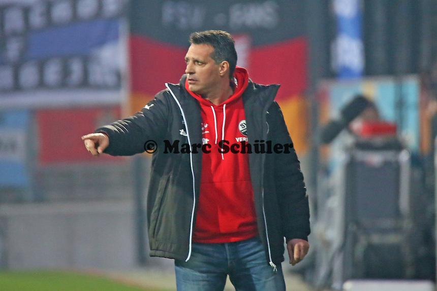 Trainer Alois Schwarz (SVS) - FSV Frankfurt vs. 1. FC Kaiserslautern, Frankfurter Volksbank Stadion