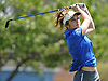 Emmah Federman of Kellenberg tees off on the 13th Hole of Eisenhower Park's Blue Course during the Nassau-Suffolk CHSAA girls golf championship on Tuesday, May 16, 2017. She shot  a 5-over 77 to win the event.