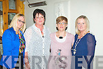 L-R Tralee ladies,Tracey Hurley,Leith,Margaret Doody,Laura Crowley,Ballinorig and Jenny Sheehy,Racecourse Lawn dined in Bella Bia,Tralee last Friday night to celebrate their birthdays..-----------------------------------------------------------------------