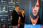 Boris Izaguirre and Eugenia Martinez de Irujo attends David Bisbal´s new music album premiere photocall at Callao cinema in Madrid, Spain. March 17, 2014. (ALTERPHOTOS/Victor Blanco)