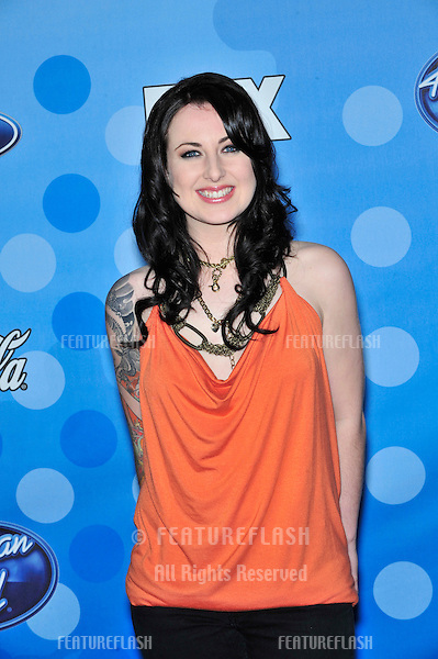 Carly Smithson at party for the top 12 finalists of 2008 American Idol at the Pacific Design Centre, Los Angeles..March 6, 2008  Los Angeles, CA.Picture: Paul Smith / Featureflash