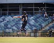 4th October 2017, WACA Ground, Perth, Australia; 2017 JLT One Day Cup, Tasmania versus Victoria; Victorian Bushrangers Cameron White on his way to scoring 165