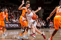Stanford, CA - Saturday December 16, 2015: Marta Sniezek during the Stanford vs Tennessee basketball game Wednesday night at Maples.<br /> <br /> The Cardinal defeated the Volunteers 69-55.<br /> .