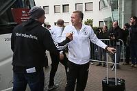 Torwarttrainer Andreas Koepke (Deutschland Germany) - 04.10.2017: Deutschland Teamankunft, Stormont Hotel Belfast