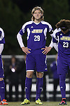 20 November 2014: James Madison's Bjarki Adalsteinsson (ISL). The University of North Carolina Tar Heels hosted the James Madison University Dukes at Fetzer Field in Chapel Hill, NC in a 2014 NCAA Division I Men's Soccer Tournament First Round match. UNC won the game 6-0.