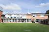Façade of the Marmont Centre for Renewable Energy at Nottingham University,
