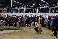 Louis Oosthuizen (International) in the rough on the 10th during the First Round - Four Ball of the Presidents Cup 2019, Royal Melbourne Golf Club, Melbourne, Victoria, Australia. 12/12/2019.<br /> Picture Thos Caffrey / Golffile.ie<br /> <br /> All photo usage must carry mandatory copyright credit (© Golffile | Thos Caffrey)