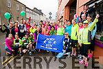 Born to Run runners at the start of the Kerry's Eye Tralee, Tralee Half Marathon on Saturday.