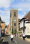 Church of Saint Peter, Bridge Street, Thetford, Norfolk,  England, UK