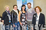 Marie O'Connell, Ciara O'Donnell, Mary Lucey, Sean Callaghan and Nuala O'Connor, who were pictured at the Steps to Success Business Networking Event at the IT on Thursday evening last..