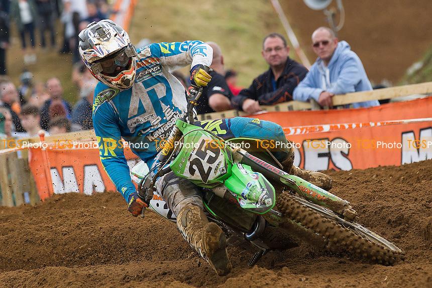 Jamie Law, (Cockermouth), LPE Kawasaki Racing, Kawasaki - Maxxis ACU British MX Championship  Round 5, Blaxhall - Woodbridge DMCC, Blaxhall MX circuit, Nr Woodbridge, Suffolk. - 28/06/15 - <br /> MANDATORY CREDIT:  Ray Lawrence/ TGSPhoto - Self billing applies where appropriate - info@raylawphoto.co.uk, 07774985144,  contact@tgsphoto.co.uk, 0845 0946026 - NO UNPAID USE