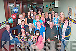 Michael Fitzgerald,Hawley Pk,Tralee got a great surprise from his loving family for his 65th birthday last Friday night in the 4 seasons bar,Tralee.