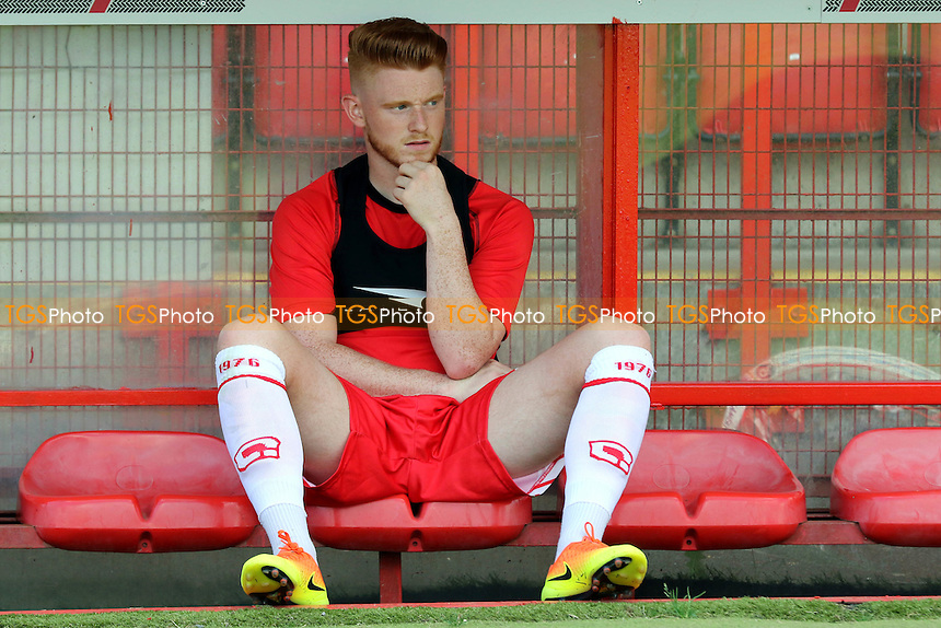 Dale Gorman of Stevenage during Stevenage vs Brighton and Hove Albion, Friendly Match Football at the Lamex Stadium on 23rd July 2016
