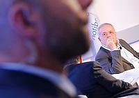 il sindaco di Casal di Principe Renato Natale   interviene al  30° Convegno dei Giovani imprenditori di Confindustria a Capri 16 Ottobre 2015