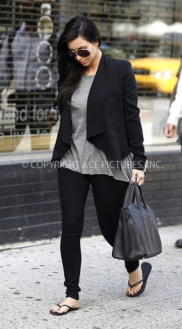 WWW.ACEPIXS.COM ************....September 1 2011, New York City....TV Personality Kim Kardashian headed out to a nail salon and Starbucks on September 1 2011 in New York City....Please byline: CURTIS MEANS - ACEPIXS.COM.. *** ***  ..Ace Pictures, Inc:  ..tel: (646) 769 0430..e-mail: info@acepixs.com..web: http://www.acepixs.com