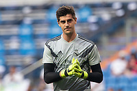 Thibaut Courtois of Real Madrid during the match between Real Madrid v Cd Leganes of LaLiga, 2018-2019 season, date 3. Santiago Bernabeu Stadium. Madrid, Spain - 1 September 2018. Mandatory credit: Ana Marcos / PRESSINPHOTO