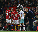 Wayne Rooney of Manchester United comes on as a substitute replacing Marcus Rashford of Manchester United during the Premier League match at the Old Trafford Stadium, Manchester. Picture date: November 27th, 2016. Pic Simon Bellis/Sportimage