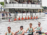 Henley Royal Regatta, Henley on Thames, Oxfordshire, 28 June - 2 July 2017.  Wednesday  14:46:57   28/06/2017  [Mandatory Credit/Intersport Images]<br /> <br /> Rowing, Henley Reach, Henley Royal Regatta.<br /> <br /> The Temple Challenge Cup<br />  University of Virginia, U.S.A.