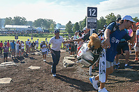 Keegan Bradley (USA) makes his way to 12 during 1st round of the 100th PGA Championship at Bellerive Country Cllub, St. Louis, Missouri. 8/9/2018.<br /> Picture: Golffile | Ken Murray<br /> <br /> All photo usage must carry mandatory copyright credit (© Golffile | Ken Murray)