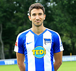 19.07.2019, Sportpark, Berlin, GER, 1.FBL, DFL,, Hertha BSC Mannschaftsfoto 2019-20,<br /> DFL, regulations prohibit any use of photographs as image sequences and/or quasi-video<br /> im Bild Marko Grujic (Hertha BSC Berlin #15)<br /> <br />       <br /> Foto © nordphoto / Engler