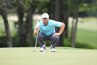 Paul CASEY (ENG) on the 8th green during Thursday's Round 1 of the 2014 PGA Championship held at the Valhalla Club, Louisville, Kentucky.: Picture Eoin Clarke, www.golffile.ie: 7th August 2014