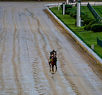 September 2, 2020: Authentic exercises as horses prepare for the 2020 Kentucky Derby and Kentucky Oaks at Churchill Downs in Louisville, Kentucky. The race is being run without fans due to the coronavirus pandemic that has gripped the world and nation for much of the year. Scott Serio/Eclipse Sportswire/CSM