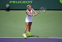 DOMINIKA CIBULKOVA (SVK)<br /> <br /> MIAMI OPEN, CRANDON PARK, KEY BISCAYNE, MIAMI, FLORIDA, USA<br /> <br /> &copy; AMN IMAGES