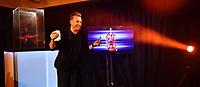 Picture by Simon Wilkinson/SWpix.com - 09/11/2018 - RLWC 2021 Rugby League World Cup 2021 Paul Barrière Trophy - The Cockerel Reveal, Avenue HQ. Leeds<br /> - Sean Alexander