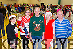 Pictured at the Christmas food and crafts fair in Duagh Sports and Leisure Centre on Sunday were L-R: Ann Quirke, Brodie and Caroline Horgan, John Mangan, B'Anne O'Connor and Gerry O'Connor, Duagh.