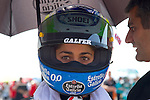FIM CEV REPSOL in Navarra during the Spanish Championship 2014.<br /> Los Arcos, navarra, spain<br /> September 07, 2014. <br /> Moto3<br /> marias herrera<br /> PHOTOCALL3000/ RME