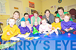 Gigglers: Having a few giggles at the parent's and children's play group at the Listowel Family Resource Centre on Monday morning were Bernie and Aibhilin Cudlip, Margaret and Niamh Shanahan, Bernadette, Maurice and Jerry Galvin, Margaret and Grainne Daughton and Colette, Aimee and Ronan Stack.