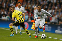 30.04.2012 SPAIN -  Champions League 12/13 Matchday 12th  match played between Real Madrid CF vs  Ballspiel-Verein Borussia 09 Dortmund at Santiago Bernabeu stadium. The picture  Cristiano Ronaldo (Portuguese forward of Real Madrid)