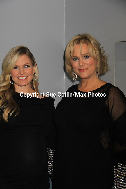"One Life To Live Tonja Walker (in film) and Terri Conn (also ATWT) at the premiere of ""Excuse Me For Living"" on October 12, 2012 at AMC Loews Village 7, New York City, New York.  (Photo by Sue Coflin/Max Photos)"