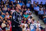 RUTSCHMANN, Bastian (#23 Bergischer HC) \ beim Spiel in der Handball Bundesliga, TVB 1898 Stuttgart - Bergischer HC.<br /> <br /> Foto © PIX-Sportfotos *** Foto ist honorarpflichtig! *** Auf Anfrage in hoeherer Qualitaet/Aufloesung. Belegexemplar erbeten. Veroeffentlichung ausschliesslich fuer journalistisch-publizistische Zwecke. For editorial use only.