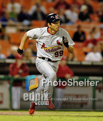 5 September 2006: So Taguchi, outfielder for the St. Louis Cardinals, in action against the Washington Nationals. The Cardinals defeated the Nationals 2-0 at Robert F. Kennedy Memorial Stadium in Washington, DC. ..Mandatory Photo Credit: Ed Wolfstein..