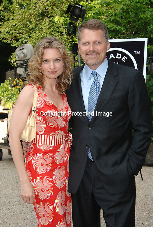 "Nicole Forester and Robert Newman of Guiding Light..at The ""Made In New York"" Awards for Outstanding Achievement in the Entertainment Industry at Gracie Mansion on June 5, 2006...Robin Platzer, Twin Images"