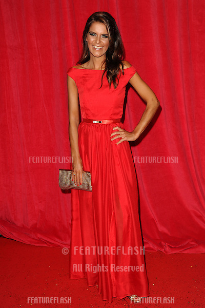 Gemma Oaten arriving for the 2014 British Soap Awards, at the Hackney Empire, London. 24/05/2014 Picture by: Steve Vas / Featureflash