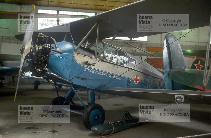 - air museum of Cracovia  (Poland), CSS S-13 airplane (1953)....- museo dell' aeronautica di Cracovia (Polonia), aereo CSS S-13 (1953)
