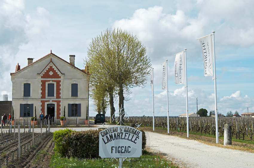 sign winery ch gd barrail lamarzelle figeac saint emilion bordeaux france