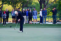 Cristie Kerr (USA) watches her putt on 18 during a playoff hole with Haru Nomura (JPN) during round 4 of  the Volunteers of America Texas Shootout Presented by JTBC, at the Las Colinas Country Club in Irving, Texas, USA. 4/30/2017.<br /> Picture: Golffile | Ken Murray<br /> <br /> <br /> All photo usage must carry mandatory copyright credit (&copy; Golffile | Ken Murray)