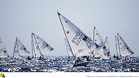 47 Trofeo Princesa Sofia IBEROSTAR, bay of Palma, Mallorca, Spain, takes<br /> place from 25th March to 2nd April 2016. Qualifier event for the Rio 2016<br /> Olympic Games. Almost 800 boats and over 1.000 sailors from to 65 nations<br /> ©Pedro Martinez/Sailing Energy/Trofeo Sofia