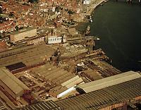 September 1972. Boelwerf in Temse.
