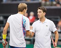 13-02-13, Tennis, Rotterdam, ABNAMROWTT, Thiemo de Bakker, Jesse Huta Galung