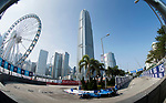 Sebastien Buemi of Switzerland from Renault e.dams competes in the Formula E Qualifying Session 2 during the FIA Formula E Hong Kong E-Prix Round 2 at the Central Harbourfront Circuit on 03 December 2017 in Hong Kong, Hong Kong. Photo by Victor Fraile / Power Sport Images