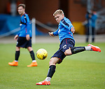Martin Waghorn about to lash in a goal