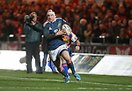 Munster wing Johne Murphy.<br /> Celtic League<br /> Scarlets v Munster<br /> <br /> 01.03.14<br /> <br /> ©Steve Pope-SPORTINGWALES