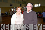 Pictured at the Sliabh Luachra Active Retirement Group Tea Dance in Knocknagoshel Community Centre on Sunday were L-R : Pat and Mary McGlynn from Currow.