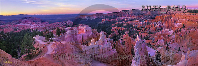 Dr. Xiong, LANDSCAPES, panoramic, photos, Sunrise Point, Bryce NP, USA(AUJXP410,#L#)