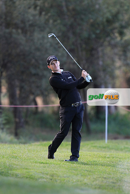 Chris Paisley (ENG) on the 7th fairway during Round 3 of the Open de Espana  in Club de Golf el Prat, Barcelona on Saturday 16th May 2015.<br /> Picture:  Thos Caffrey / www.golffile.ie