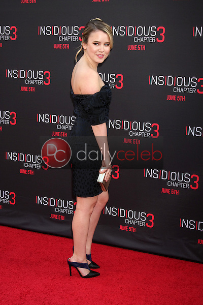 Taylor Spreitler at the &quot;Insidious Chapter 3&quot; Premiere, TCL Chinese Theater, Hollywood, CA 06-04-15<br /> David Edwards/DailyCeleb.com 818-249-4998